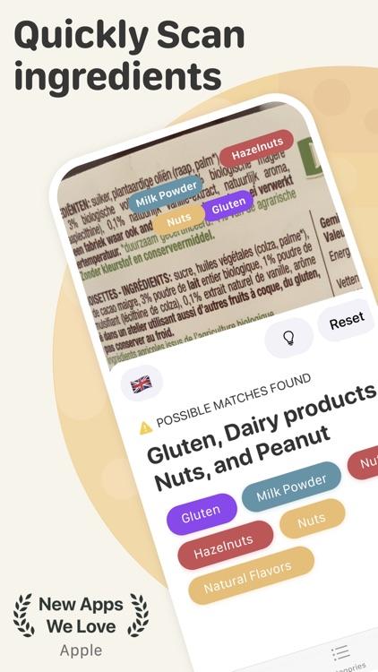 Soosee - Allergy & Vegan Scan screenshot-0