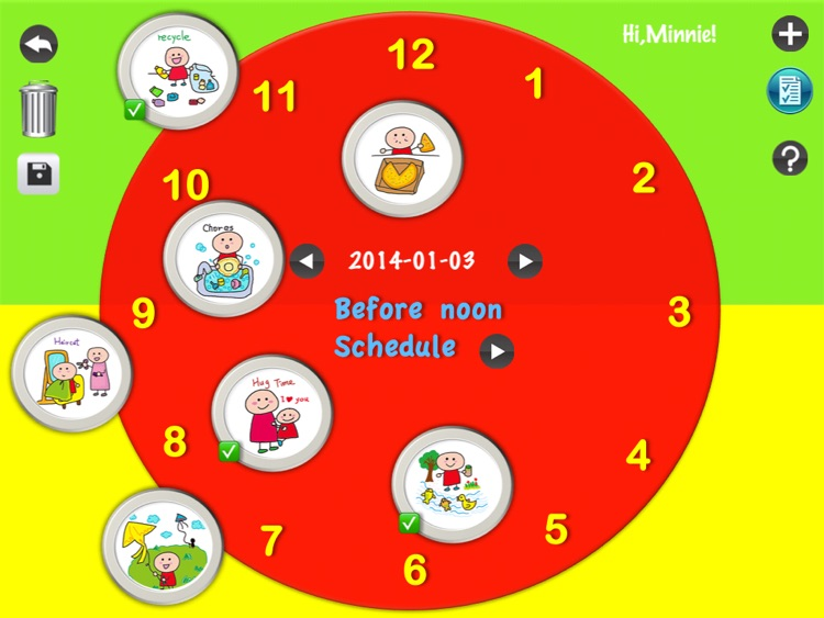 Kids schedule & Kids todo list screenshot-3