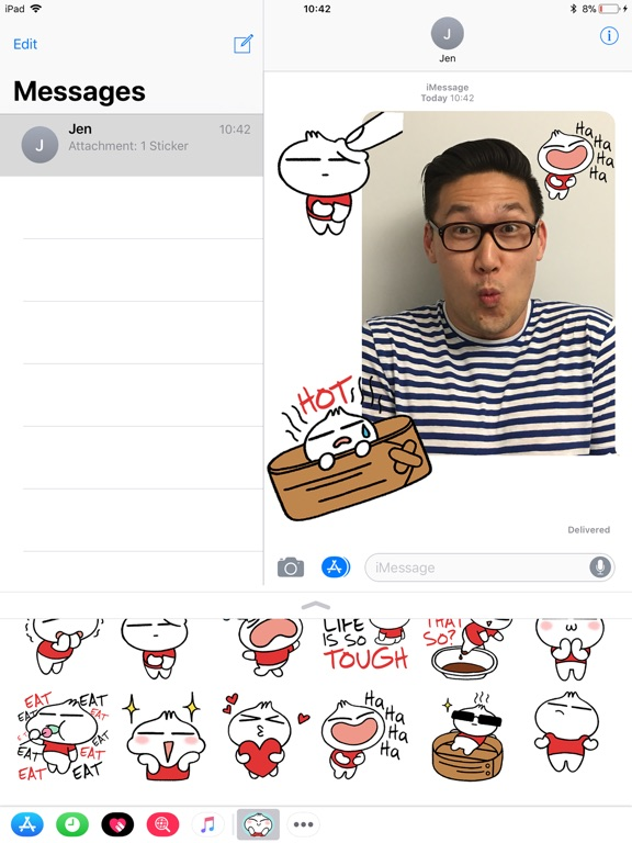 Pixar Stickers: Bao screenshot 7
