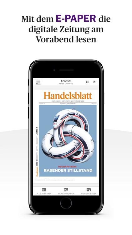Handelsblatt - Nachrichten screenshot-3