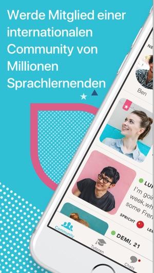 Tandem - Sprachen lernen Screenshot