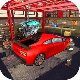 Car Factory 3D - Garage World
