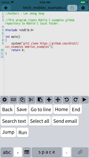 Mobile C [ C/C++ Compiler ] on the App Store