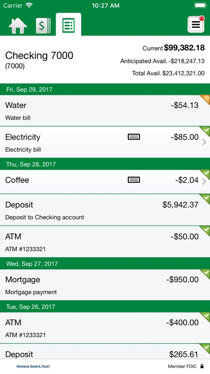 Monroe Bank & Trust eBusiness screenshot-4