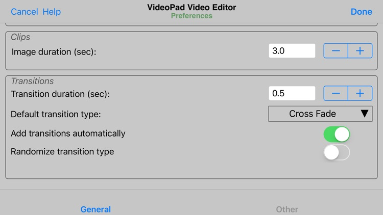VideoPad - Video Editor screenshot-4
