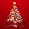 Tarjetas de Navidad año nuevo