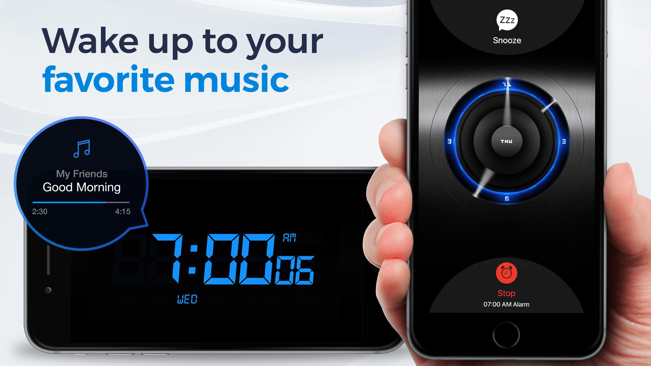 Alarm Clock for Me. Screenshot