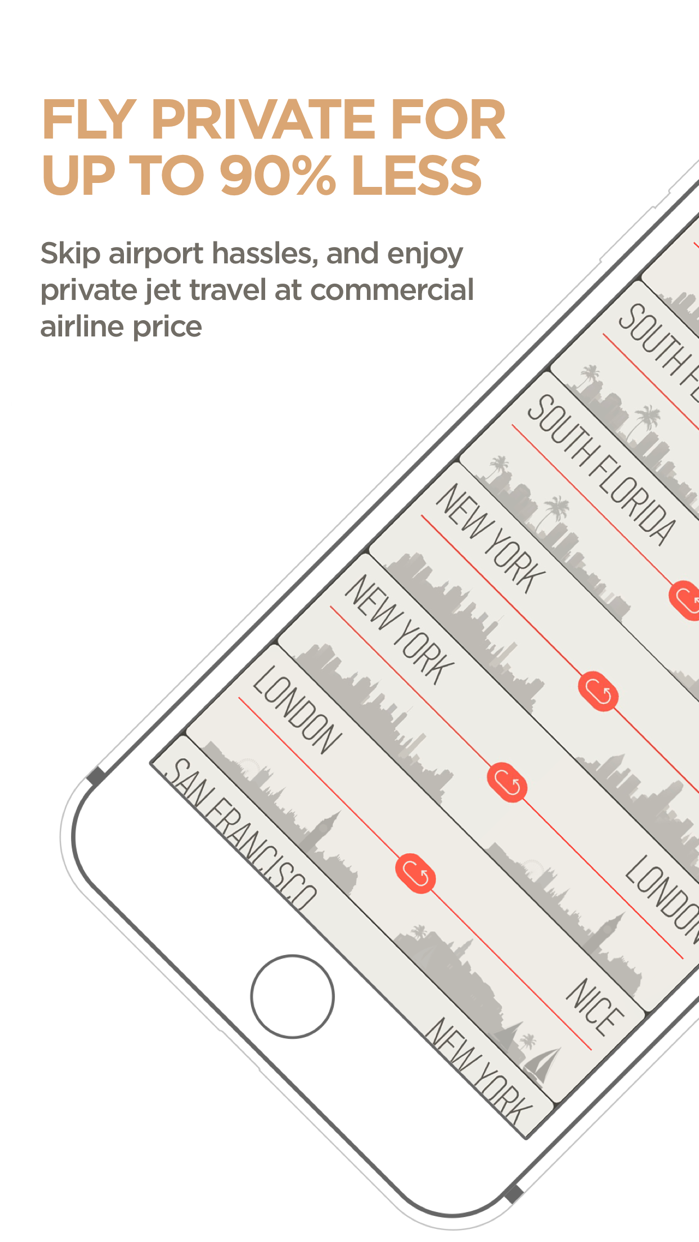 JetSmarter   Book Private Jets Screenshot