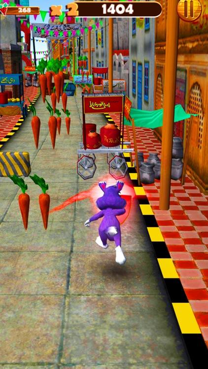Bunny Dash Rush Runner 3D screenshot-4