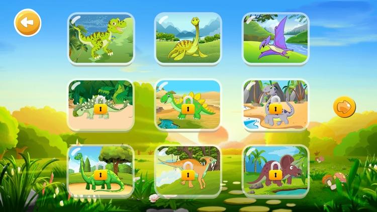 恐龙拼图-儿童益智游戏 screenshot-3