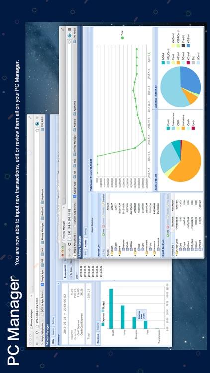 Money Manager (+PC Editing) screenshot-7