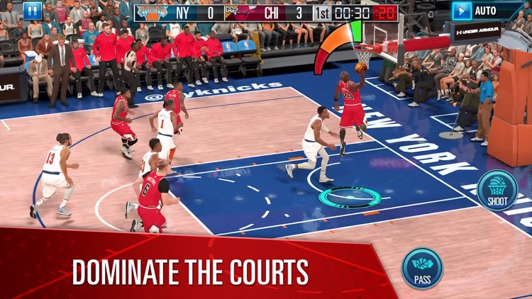 NBA 2K Mobile Basketball screenshot-4