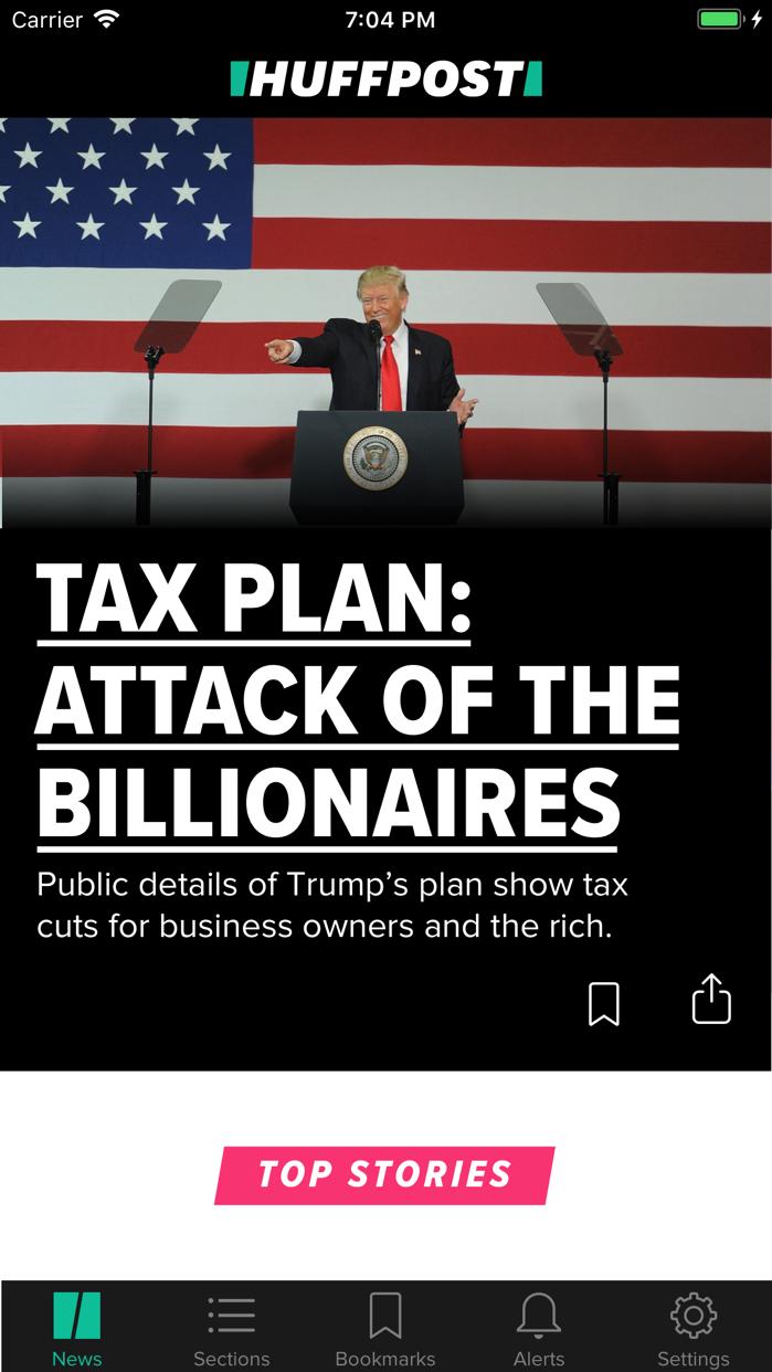 HuffPost - News & Politics Screenshot