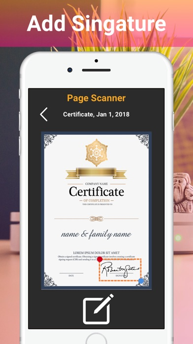 Page Scanner: Scan Docs to PDF Screenshots