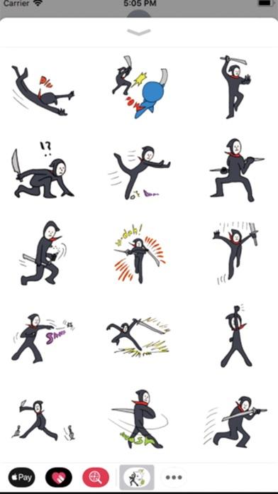 Fighting Ninja Stickers | Apps | 148Apps