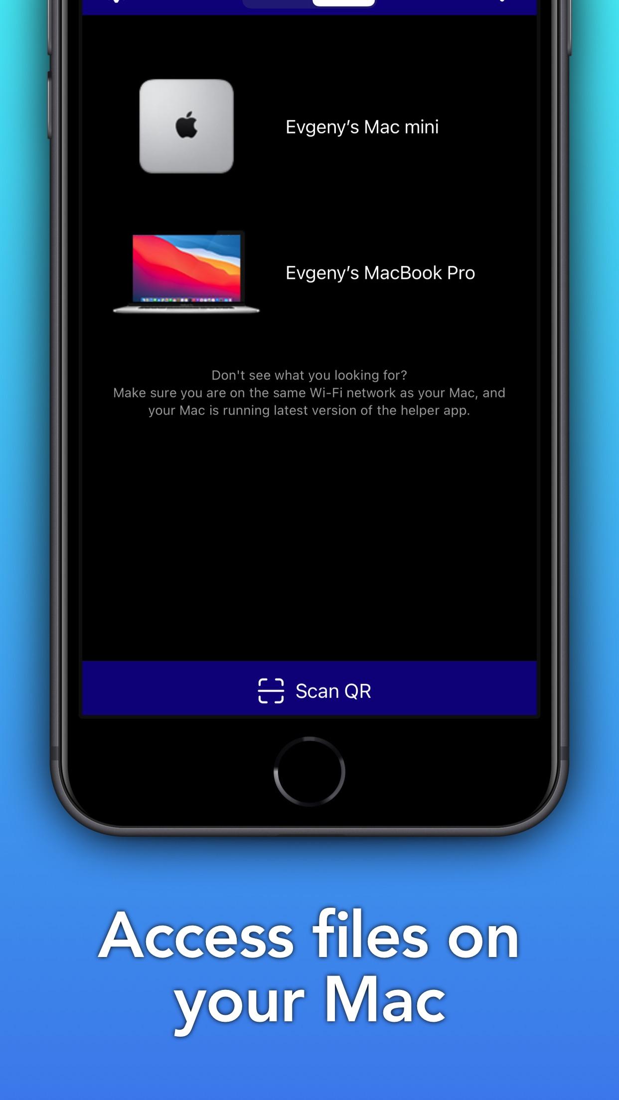 Screenshot do app File Explorer for Mac [Pro]