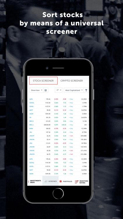 Dominant investors: Stocks screenshot-3