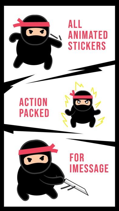 Ninja Animated Stickers Screenshot 2