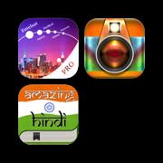 SatFinder Pro, PhotoRush & Amazing Hindi package