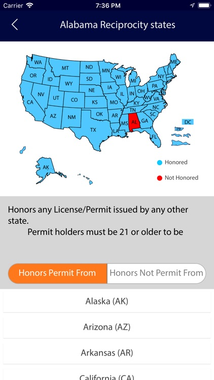 Concealed Carry Laws 50 States screenshot-4