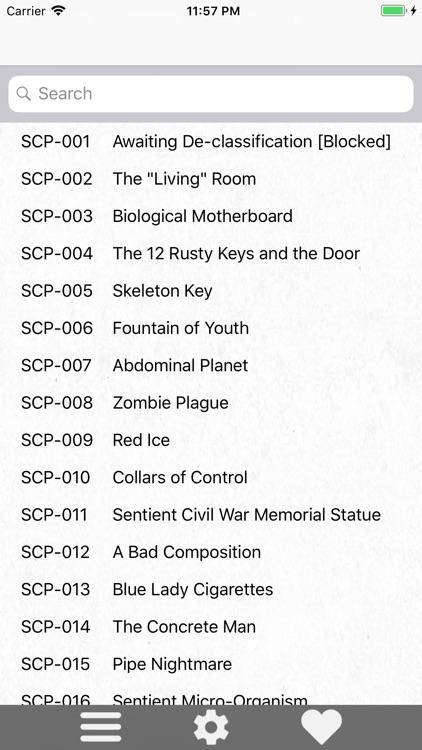 SCP Foundation Catalog screenshot-3