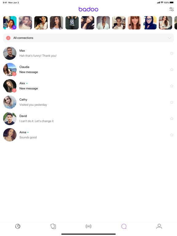 Badoo - Dating. Chats. Friends iPad app afbeelding 3
