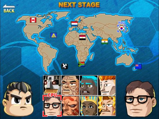 Head Soccer iPad app afbeelding 2