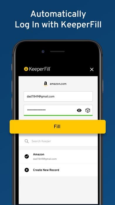 Keeper Password Manager Screenshot