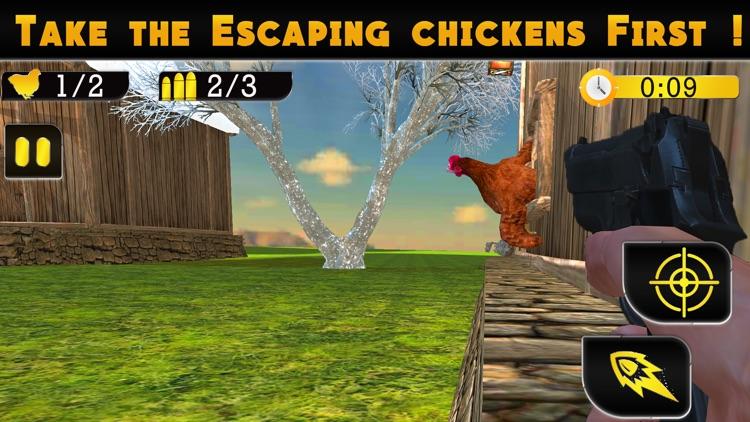 Chicken Shooter 3d screenshot-4