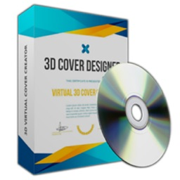 3D Cover Maker - Book Cover