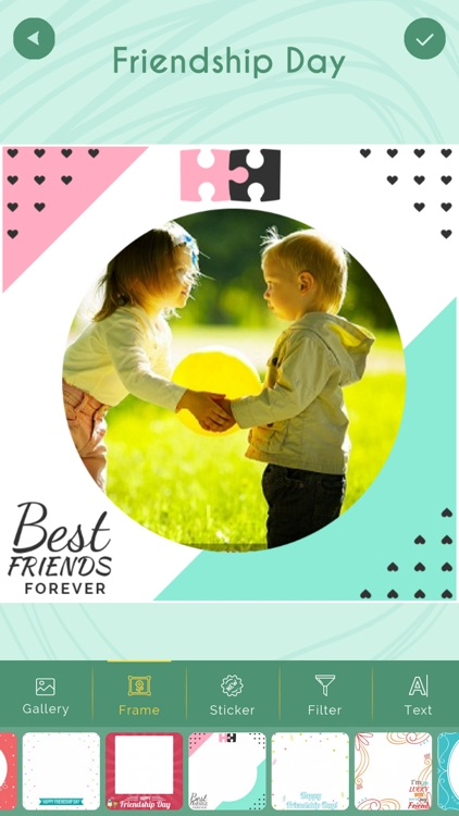 Friendship Day Photo Frame New screenshot-0