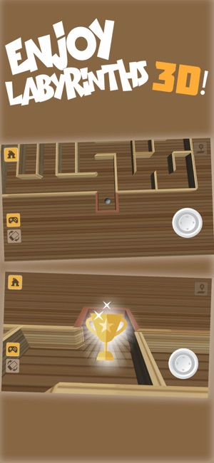 Classic Labyrinth – 3D Mazes on the App Store