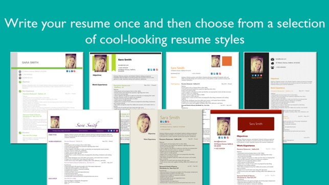 resume designer pro on the app store