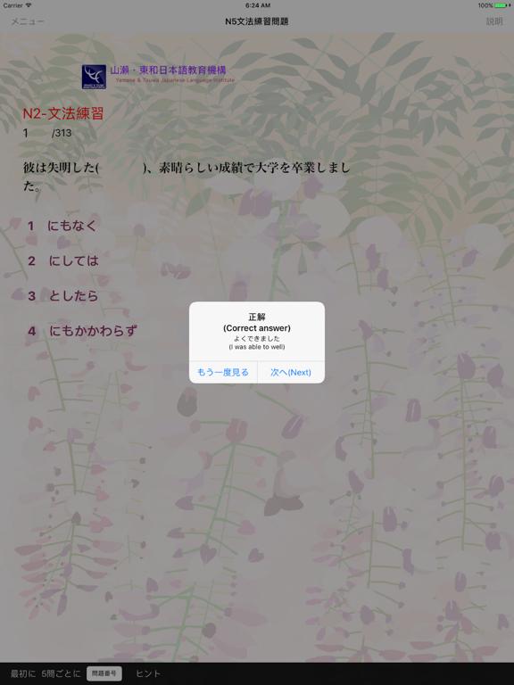 JLPT N2 文法 screenshot 18