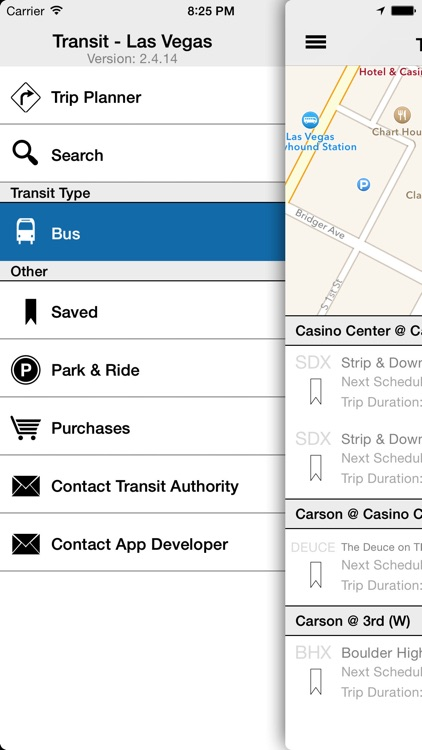 Transit Tracker - Las Vegas screenshot-1
