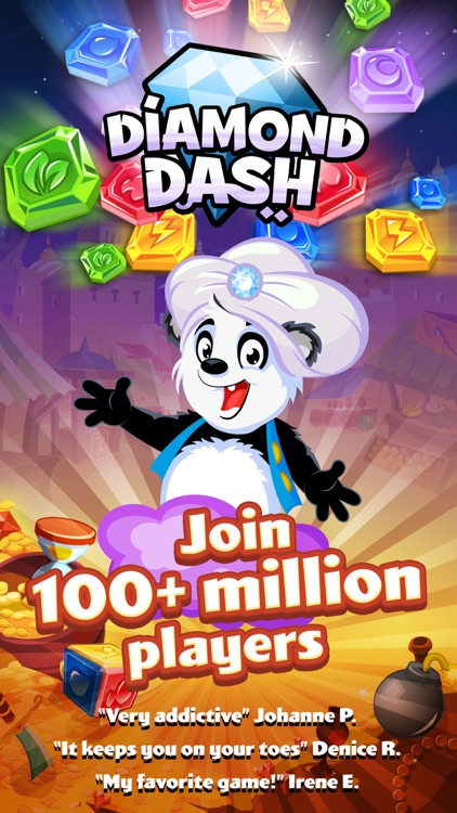 Diamond Dash: Gem Puzzle Game screenshot-4