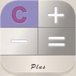 Calculator + - twin - for ipad