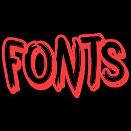 Keyboard Fonts - Cool Font App