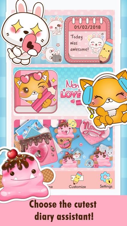 Niki: Cute Diary App screenshot-4