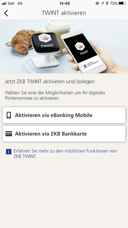 ZKB TWINT screenshot-1