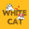White Cat Emoji Stickers