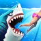 App Icon for Hungry Shark World App in India IOS App Store