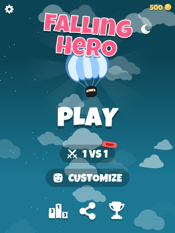 Falling Hero ! screenshot 14