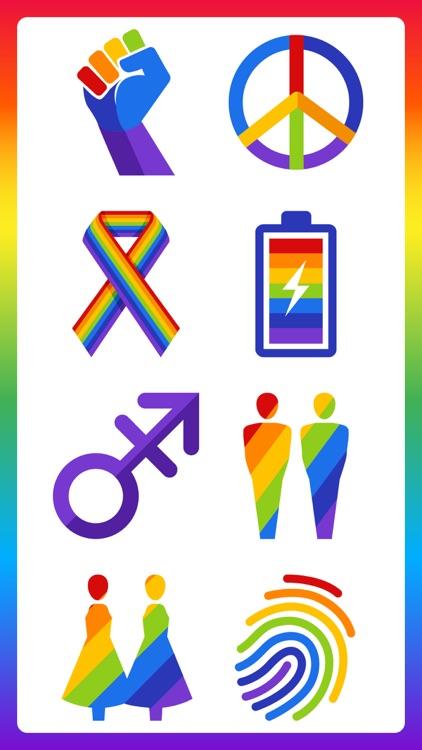 80+ Pride Love Sticker Pack screenshot-9