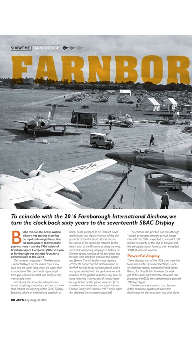 JETS Magazine - Aviation heritage news on classic airliner, military aircraft, aeroplane & jets-4