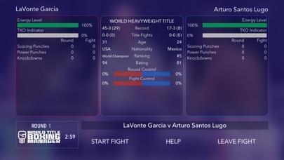World Title Boxing Manager screenshot #2