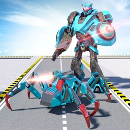 Spider Hero Robot War Game