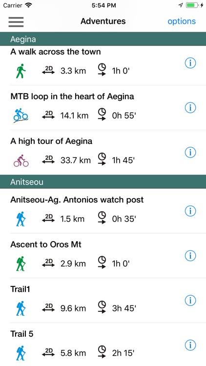 Aegina topoguide screenshot-7