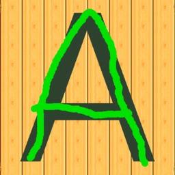 ABC Trace Letters & Phonics