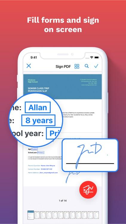 iLovePDF - PDF Editor & Scan screenshot-4